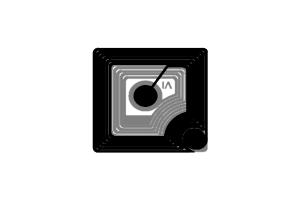 15x15mm 高频 RFID Icode 干 Inlay