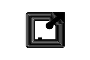 18x18mm 高频 RFID Ntag 干 Inlay