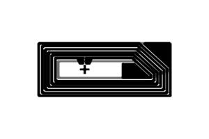 18x8mm 高频 RFID Ntag 干 Inlay