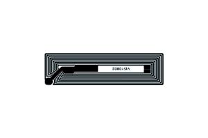 52x15mm 高频 RFID Icode 干 Inlay B款