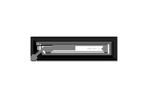52x15mm 高频 RFID Ntag 干 Inlay B款