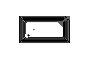 76x45mm 高频 RFID F08 干inlay