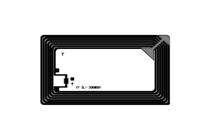 76x45mm 高频 RFID Icode 干 Inlay