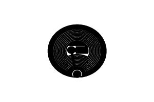 D=22mm 高频 RFID Icode 干 Inlay