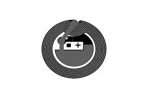 D=25mm 高频 RFID F08 干inlay