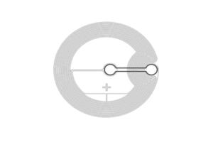 D=27mm 高频 RFID Ntag 干 Inlay