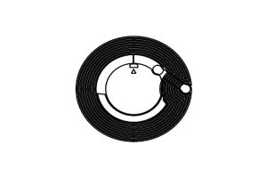 D=30mm 高频 RFID F08 干inlay