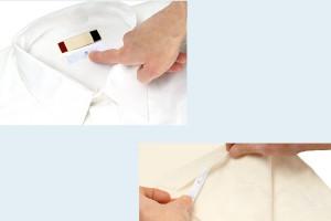 70x15mm RFID超高频水洗唛标签 洗涤标签 RC9013-9